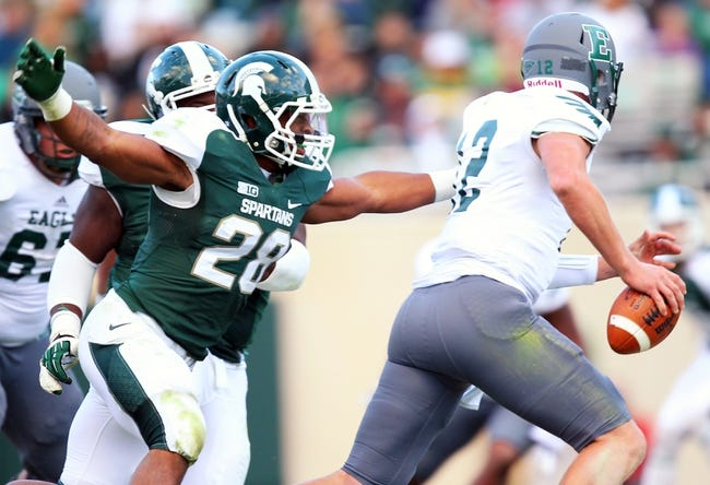 Michigan State Spartans vs. Eastern Michigan Eagles CFB Pick, Odds, Prediction - 9/20/14