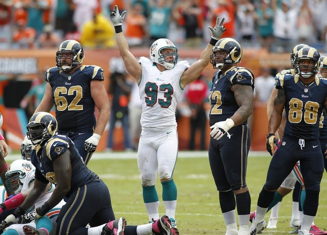 Miami Dolphins vs. St. Louis Rams Pick-Odds-Prediction - 8/28/14
