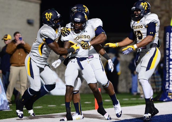 Cincinnati Bearcats vs. Toledo Rockets Pick-Odds-Prediction - 9/12/14