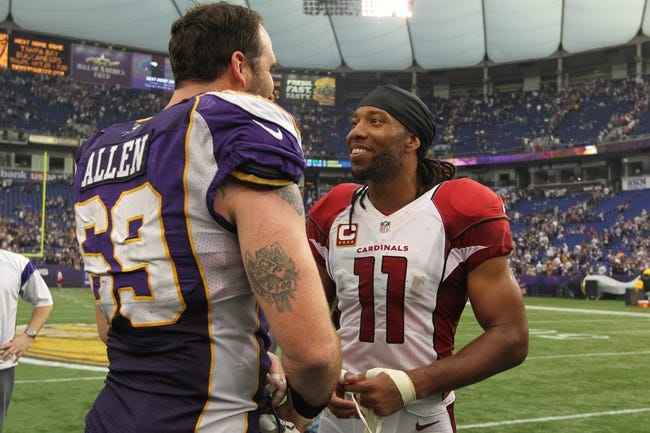 Minnesota Vikings vs. Arizona Cardinals Pick-Odds-Prediction - 8/16/14