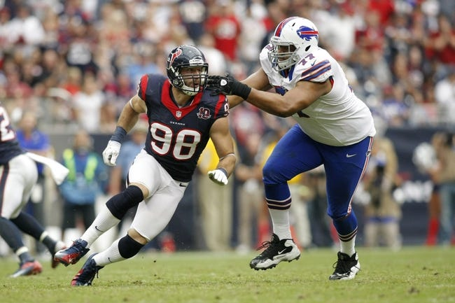 Houston Texans vs. Buffalo Bills Free Pick, Odds, Prediction 9/28/14