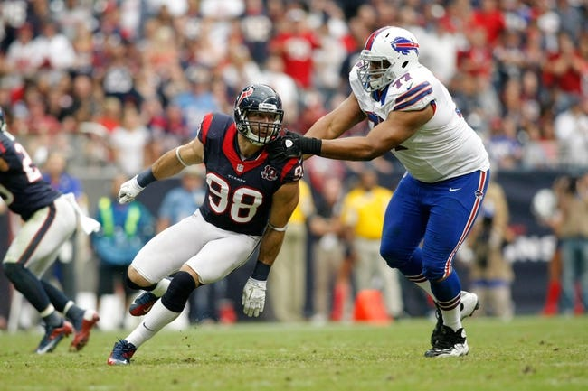 Houston Texans vs. Buffalo Bills - 9/28/14 NFL Pick and Odds