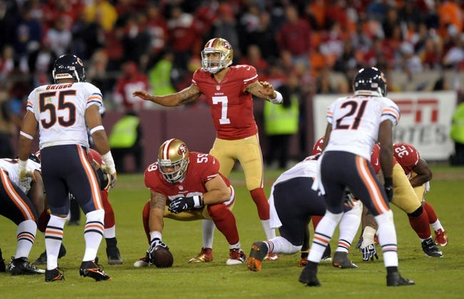 San Francisco 49ers vs. Chicago Bears Free Pick, Odds, Prediction 9/14/14