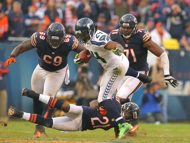 Chicago Bears at Seattle Seahawks - 8/22/14 Pick and Odds