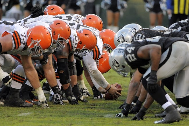 Browns vs. Raiders - 10/26/14 NFL Pick, Odds, Prediction
