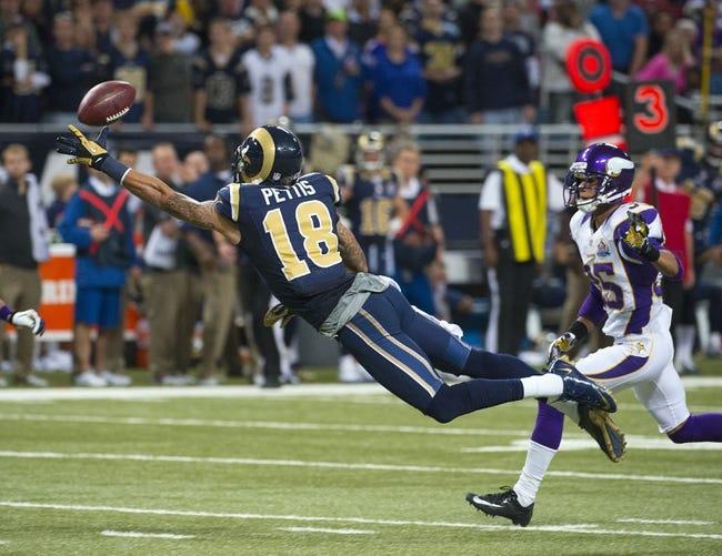 St. Louis Rams vs. Minnesota Vikings 9/7/14 NFL Pick, Odds, Prediction