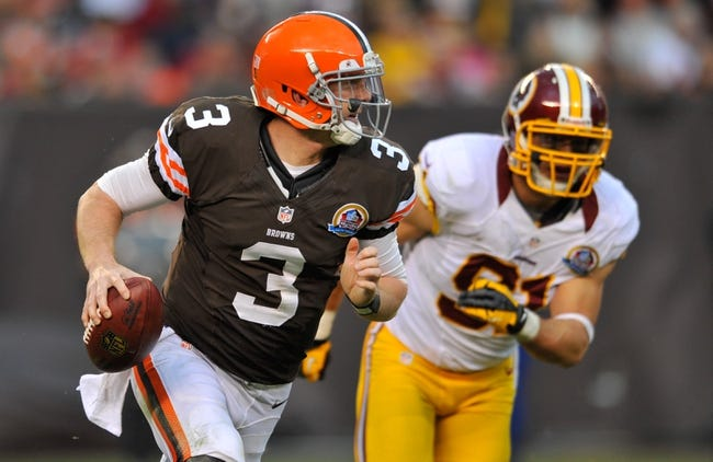 NFL Preseason Week 2 Pick Cleveland Browns at Washington Redskins - 8/18/14