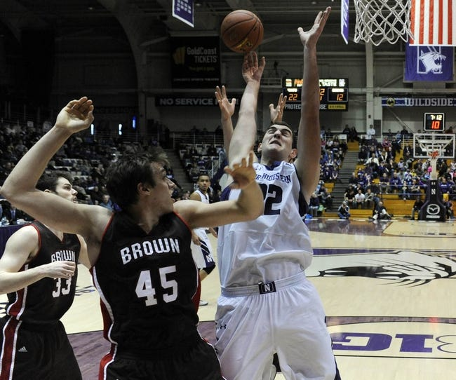 Brown vs. Northwestern - 11/17/14 College Basketball Pick, Odds, and Prediction