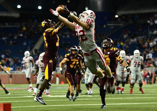 Central Michigan vs. Western Kentucky Bahamas Bowl - 12/24/14 College Football Pick, Odds, and Prediction
