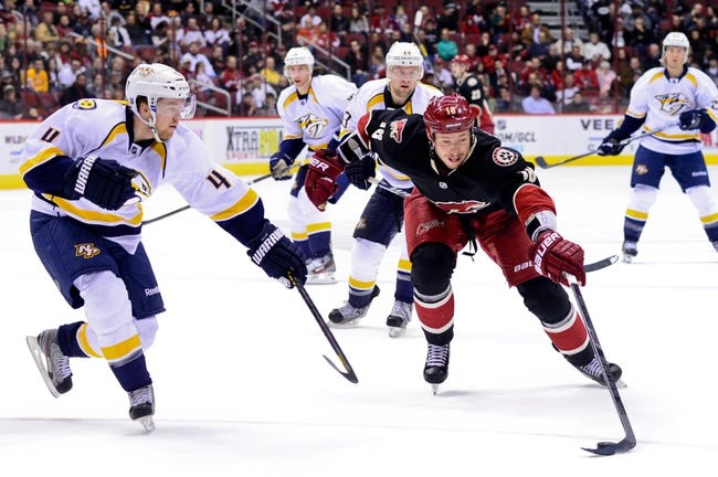 Arizona Coyotes vs. Nashville Predators - 12/11/14 NHL Pick, Odds, and Prediction