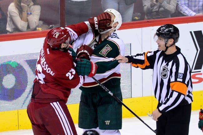 Wild vs. Coyotes - 10/23/14 NHL Pick, Odds, Prediction
