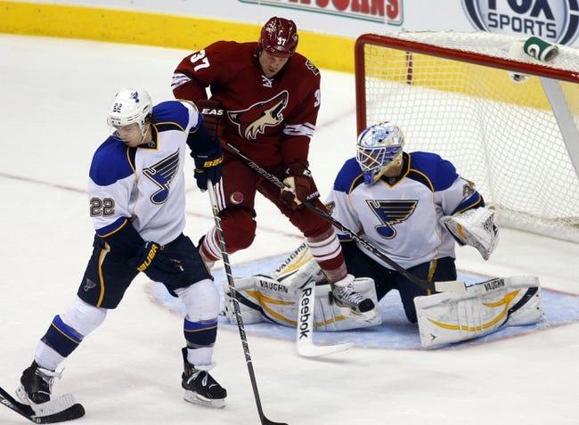 Arizona Coyotes vs. St. Louis Blues Pick-Odds-Prediction - 10/18/14