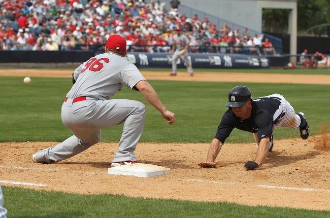 St. Louis Cardinals vs. New York Yankees MLB Pick, Odds, Prediction 5/26/14