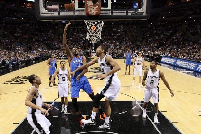 San Antonio Spurs vs. Oklahoma City Thunder - 5/19/14