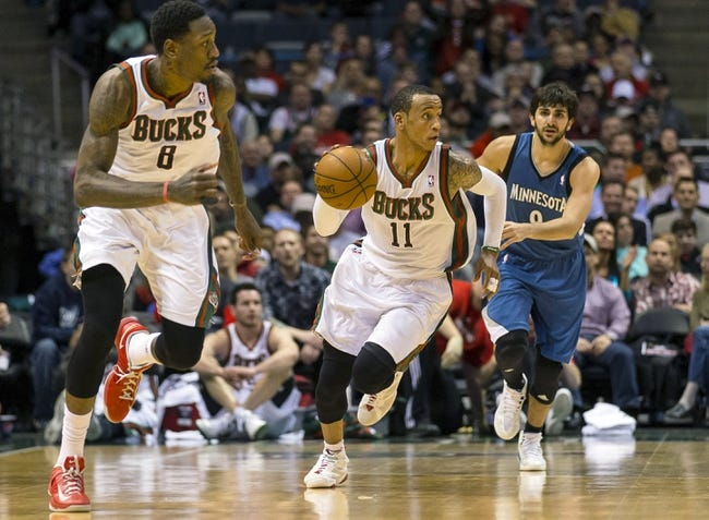 Minnesota Timberwolves vs. Milwaukee Bucks 10/17/14 NBA Preseason Pick, Odds, Prediction