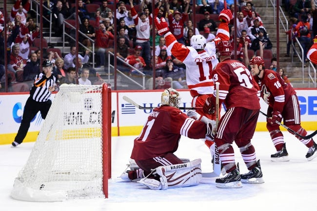 Red Wings vs. Coyotes - 3/24/15 NHL Pick, Odds, and Prediction