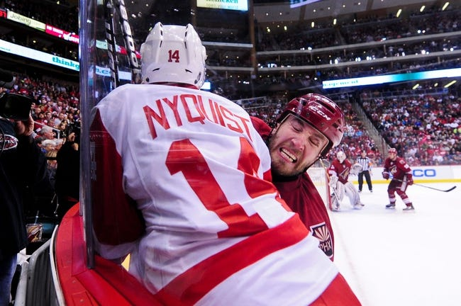 Coyotes vs. Red Wings - 2/7/15 NHL Pick, Odds, and Prediction