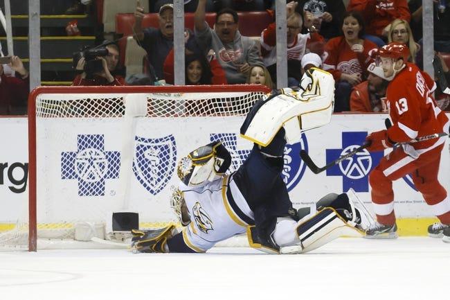 Predators vs. Red Wings - 2/28/15 NHL Pick, Odds, and Prediction