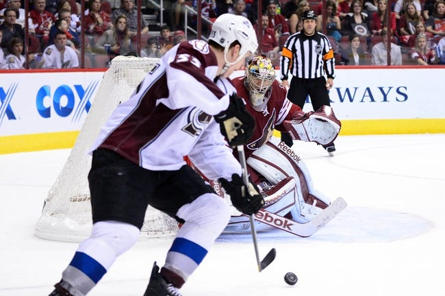 Colorado Avalanche vs. Arizona Coyotes - 2/16/15 NHL Pick, Odds, and Prediction