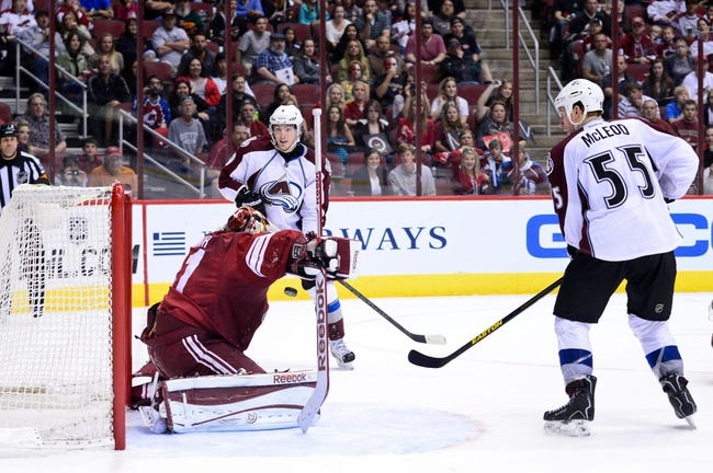 Coyotes vs. Avalanche - 11/25/14 NHL Pick, Odds, and Prediction