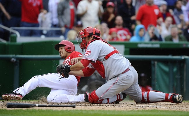 Washington Nationals vs. Cincinnati Reds MLB Pick, Odds, Prediction - 5/19/14