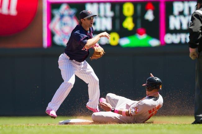 Minnesota Twins vs. Baltimore Orioles MLB Pick, Odds, Prediction - 5/2/14