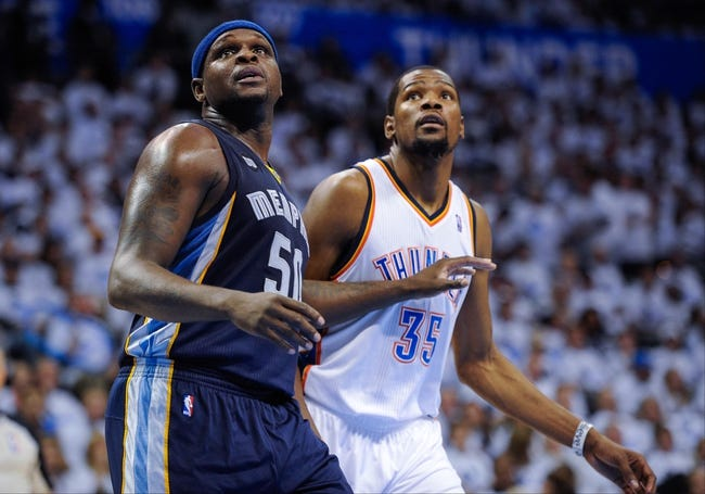 Oklahoma City Thunder vs. Memphis Grizzlies - 4/19/14