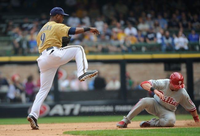 Philadelphia Phillies vs. Milwaukee BrewersPick-Odds-Prediction - 4/8/14