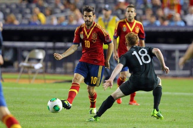 2014 FIFA World Cup: Spain vs Australia Pick, Odds, Prediction - 6/23/14