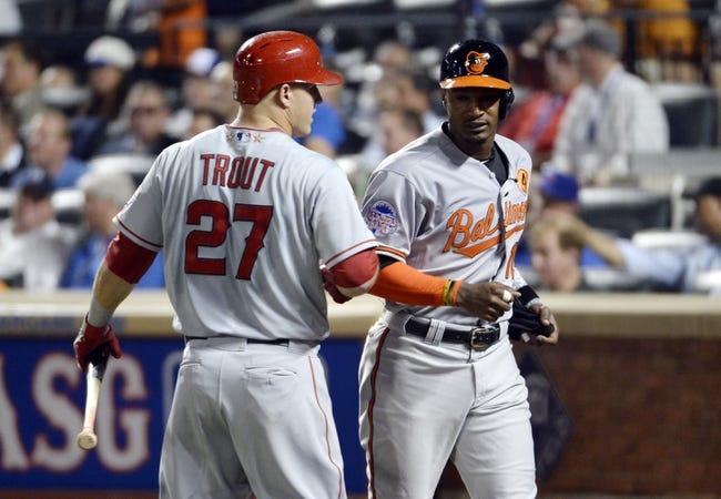 Los Angeles Angels vs. Baltimore Orioles MLB Pick, Odds, Prediction 7/21/14