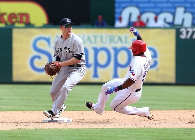 New York Yankees vs. Texas Rangers Pick-Odds-Prediction - 7/21/14