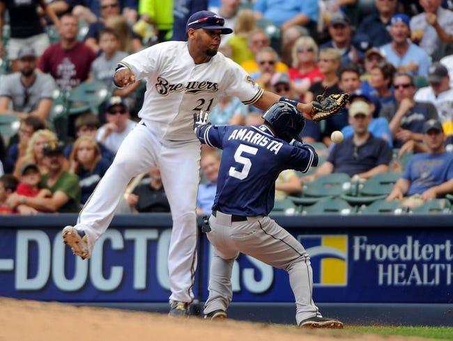 Milwaukee Brewers vs. San Diego Padres MLB Pick, Odds, Prediction 4/22/14