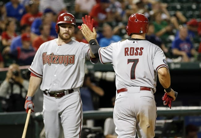 Arizona Diamondbacks vs. Texas Rangers - 4/21/15 MLB Pick, Odds, and Prediction