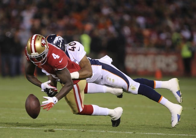 Denver Broncos at San Francisco 49ers vs Free Pick, Odds, Prediction - 8/17/14