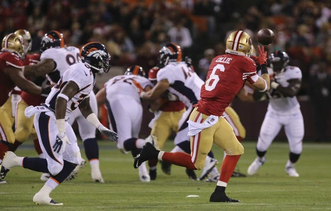 NFL Preseason Week 2 Pick Denver Broncos at San Francisco 49ers - 8/17/14