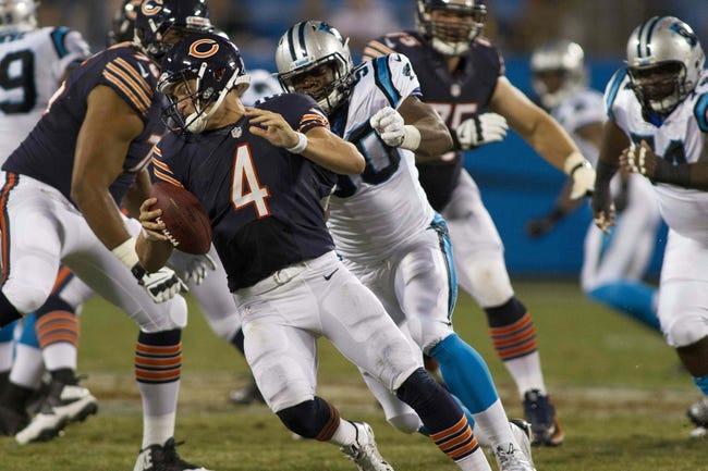 Chicago Bears at Carolina Panthers- 10/5/14