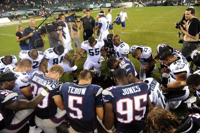 New England Patriots vs. Philadelphia Eagles NFL Pick, Odds, Prediction - 8/15/14