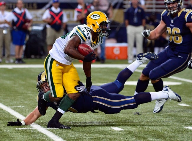 Green Bay Packers at St. Louis Rams NFL Preseason, Pick, Odds, Prediction - 8/16/14