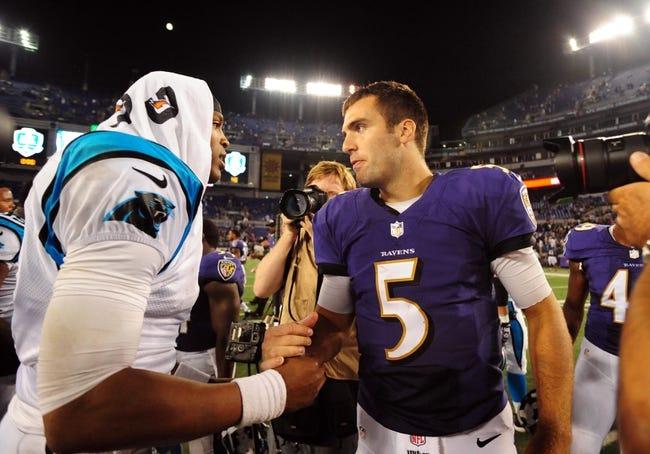 Baltimore Ravens vs. Carolina Panthers - 9/28/14 NFL Pick and Odds