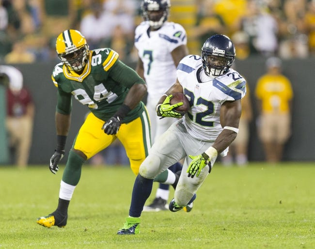 Green Bay Packers at Seattle Seahawks - 9/4/14