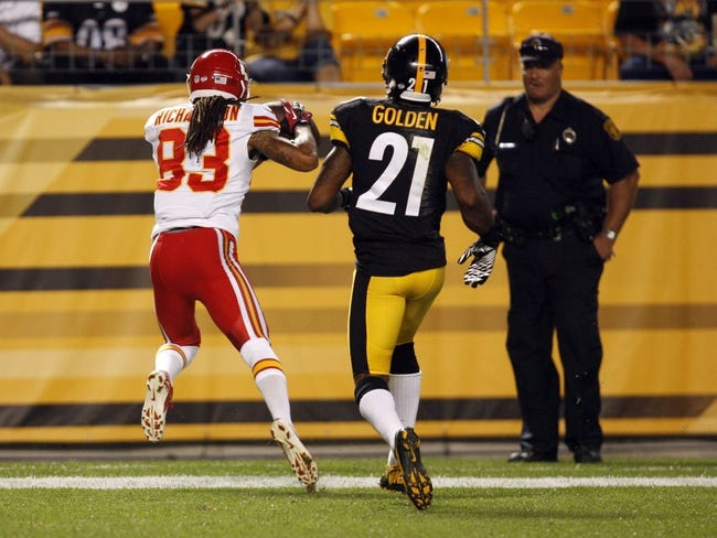 Steelers vs. Chiefs - 12/21/14 NFL Pick, Odds, and Prediction