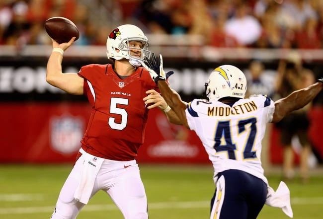 San Diego Chargers vs. Arizona Cardinals Free Pick, Odds, Prediction 8/28/14