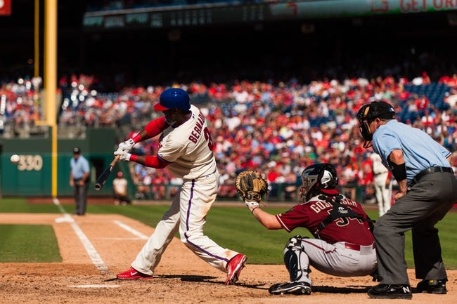 Arizona Diamondbacks vs. Philadelphia Phillies MLB Pick, Odds, Prediction - 4/25/14