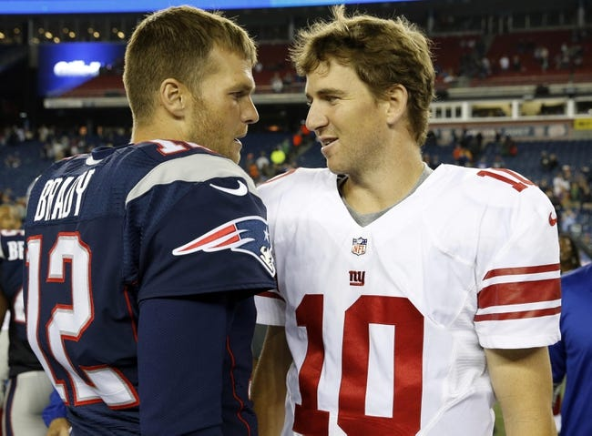 New York Giants vs. New England Patriots - 8/28/14 NFL Pick and Odds