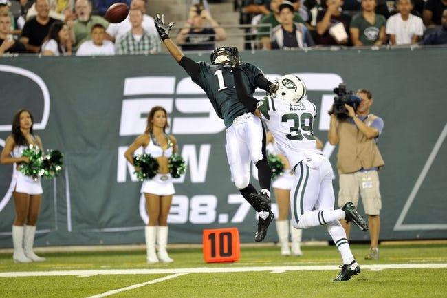 Philadelphia Eagles vs. New York Jets Pick-Odds-Prediction - 8/28/14
