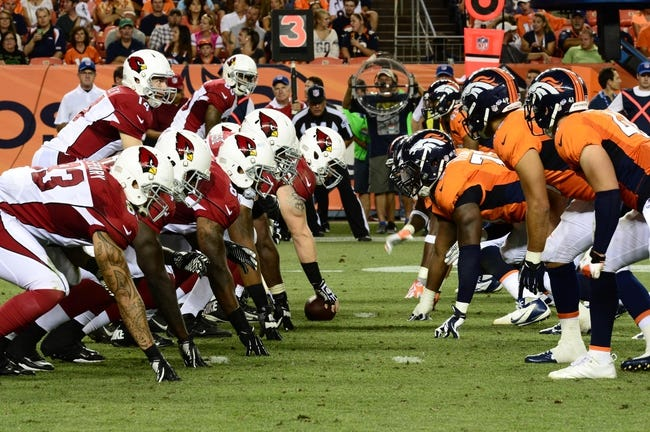 Arizona Cardinals at Denver Broncos - 10/5/14 NFL Pick, Odds, Prediction