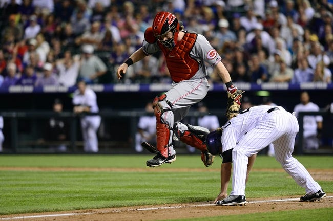 Cincinnati Reds vs. Colorado Rockies MLB Pick, Odds, Prediction 5/10/14
