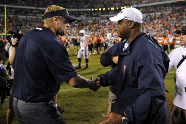 BYU Cougars vs. Virginia Cavaliers Pick-Odds-Prediction 9/20/14