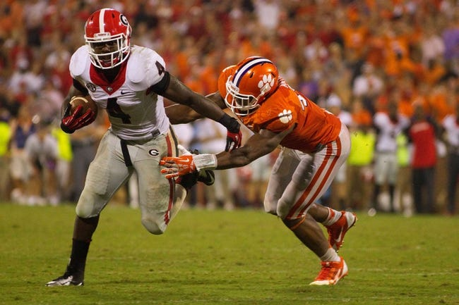 Georgia Bulldogs vs. Clemson Tigers 8/30/14 College Football Free Pick