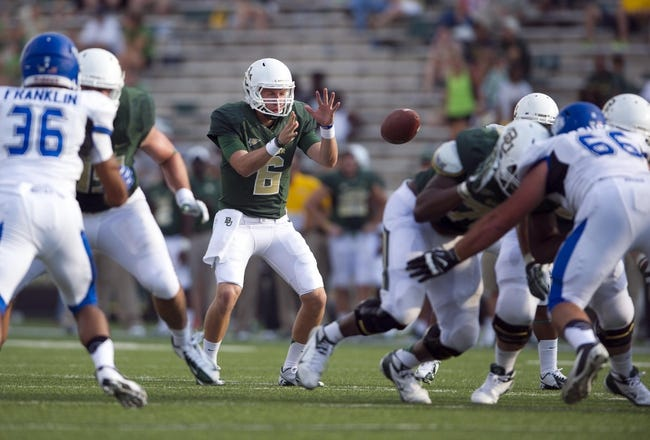 Buffalo Bulls vs. Baylor Bears Pick-Odds-Prediction - 9/12/14